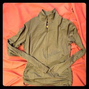 Lucy jet-set half zip shirt